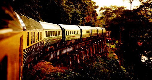The Eastern & Oriental Express hosts guests in unrivalled style on a timeless adventure.