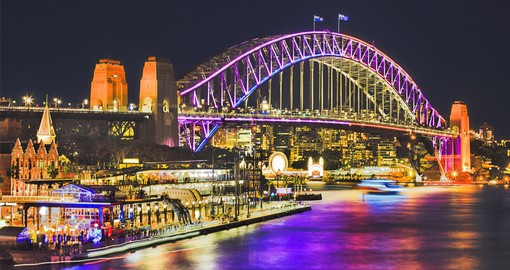 Vivid Sydney is an annual festival that features mesmerising art installations and 3D projections