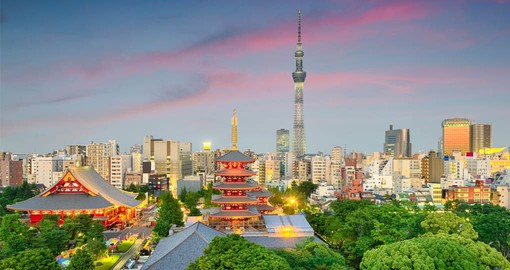 Japan's capital and the world's most populous metropolis, Tokyo was a small castle town until 1868