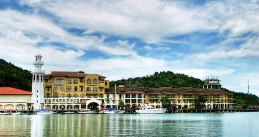 Langkawi, the Jewel of Kedah is part of an archipelago of 99 islands