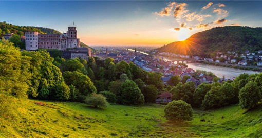 Your travel to Germany continues with a visit to the medieval town of Heidelberg on the Neckar River