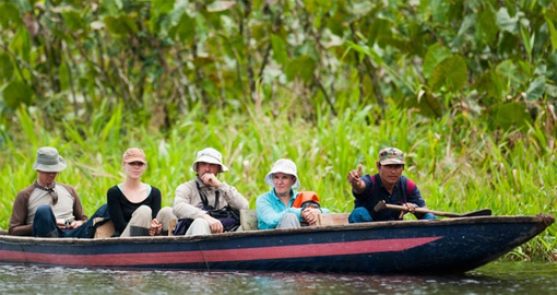 learn about life on the river on your Ecuador tour