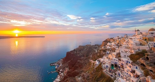 You will visit Santorini during your Greece trip.