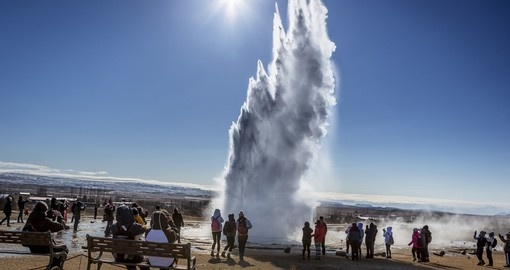 Largest Geyser in Europe