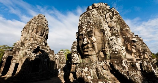 Tour ancient Angkor Wat on your Cambodia Tour