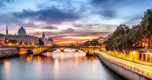 Paris is often called the City of Light and the best way to discover it is on a scenic evening cruise on the River Seine