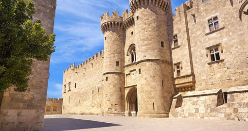Palace of the Grand Masters, Rhodes, Greece