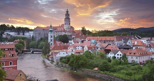 Discover Cesky Krumlov on your Czech Republic vacation
