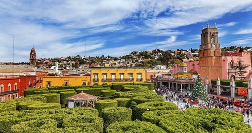 San Miguel de Allende is part of this holiday in Mexico
