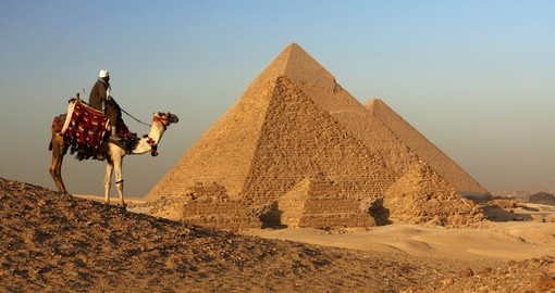 The great Pyramids of Giza - Egypt