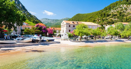 Peljesac is a rugged peninsula well-known for its charming towns and vineyards