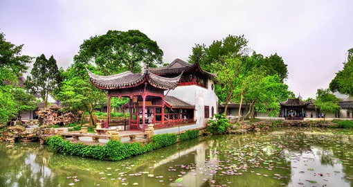 Visit ancient gardens on your trip to China