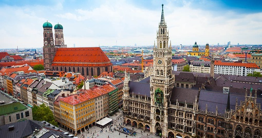 Stroll the streets of Munich on your Germany vacation