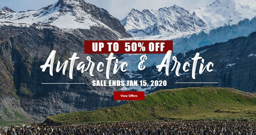 Arctic and Antarctica on sale