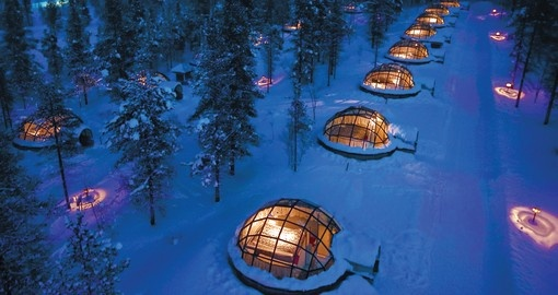 Stay in an Igloo on your Finland Tour
