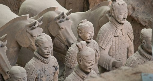 The world famous Terra Cotta Warriors of Xian are a must inclusion on all China tours.