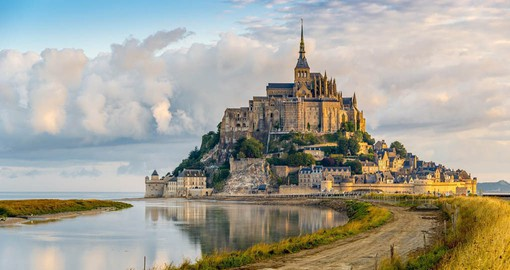 Best known as the site of the spectacular Norman Benedictine Abbey, Mont Saint Michel is a World Heritage site