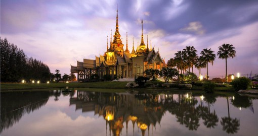 Visit Wat Non Kum Temple in Bangkok during your next trip to Thailand.