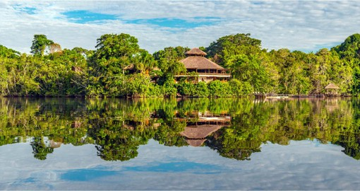 The Peruvian Amazon is part of the world's largest tropical rainforest