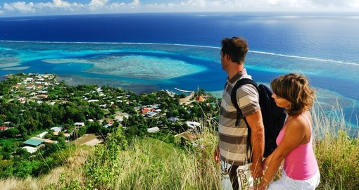 Discover beautiful panoramic views everywhere on your next trip to Bora Bora.