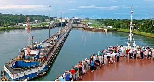 One of Panama's icons, the Panama Canal, is a highlight on all Panama vacations
