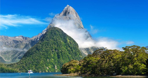 Milford Sound is regarded as New Zealand's most spectacular site