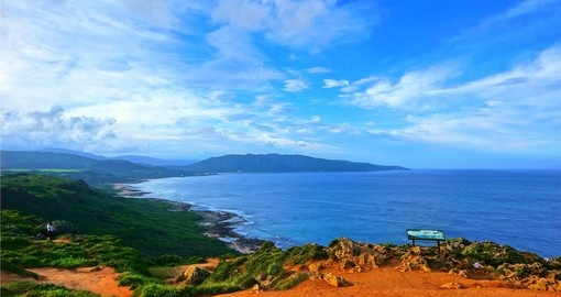 Longpan Park is a must see coastal site that is included in your Taiwan Tour Packages