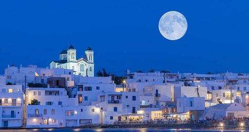 Naoussa village at Paros island