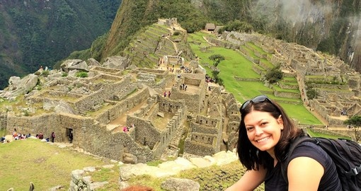Goway's Groups Expert at Machu Picchu, Peru