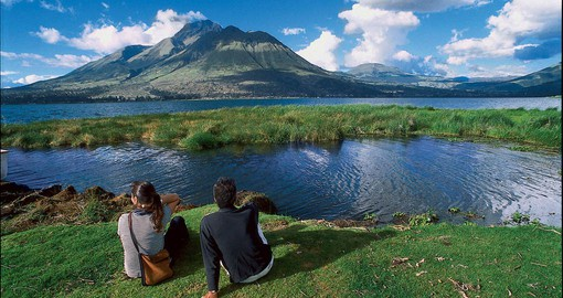 Enjoy Ecuador's stunning landscapes