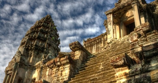 Experience Angkor Wat on your trip to Cambodia
