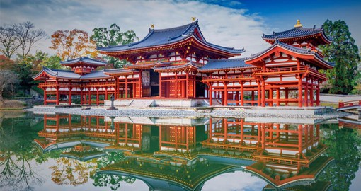 Kyoto served as Japan's capital and the emperor's residence from 794 until 1868