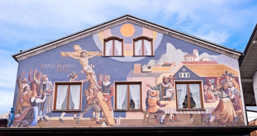 Oberammergau Painted House