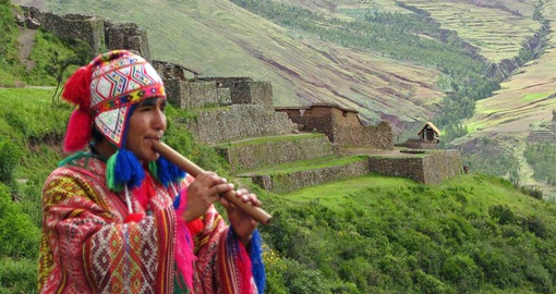 Ancient Inca Culture in Modern Day Peru