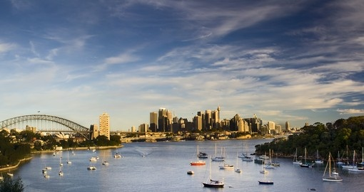 Explore an amazing beauty Sydney at sunset  during your next Australia vacations.