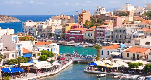 Explore the wonderful seaside town of Crete and get a sense of local Greek culture on your Trips to Greece