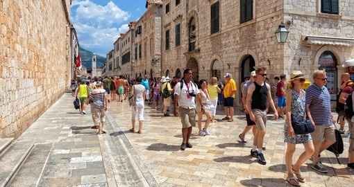 Dubrovnik - the most popular destination to include when booking your Croatia vacation.