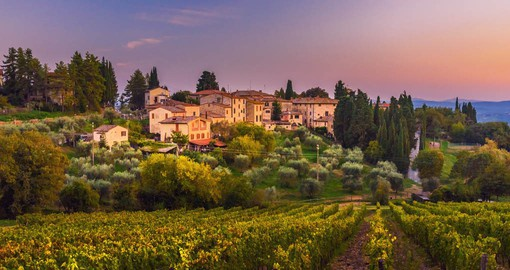 The Chianti area of Tuscany is perhaps the most well-known and one of the most beautiful in the region