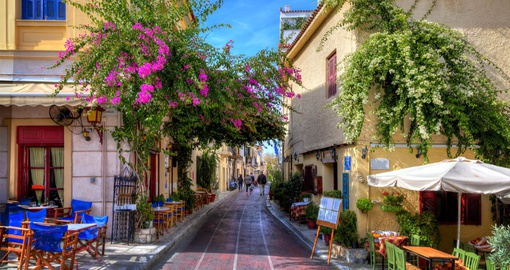 Historic neighbourhood of Plaka, Athens