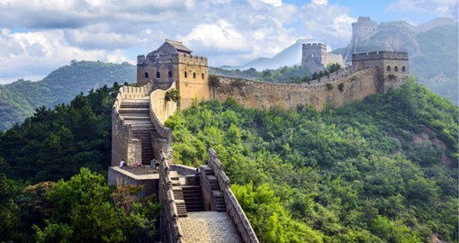 Walk on the Great Wall of China on your China Vacation
