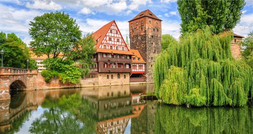 Nuremberg, a city with a centuries long beer, sausage and gingerbread tradition