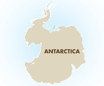 Antarctica Destination Map