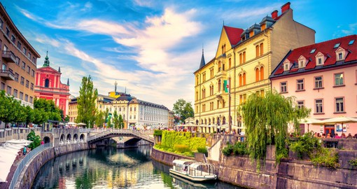 One of Europe's most liveable cities, Ljubljana is Slovenia's capital and largest city.