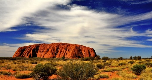 Visit Ayers Rock, the World Heritage Site during your next Australia Vacation.
