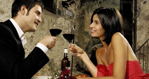 Be sure to include dining out at an Italian restaurant  when booking one of our Italy tours.