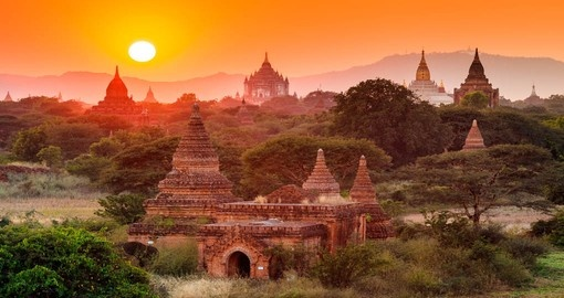 Visit The Temples of Bagan and explore this historical beauty during your next Myanmar vacations.