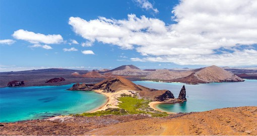Bartolome is the most visited and photographed island in Galapagos