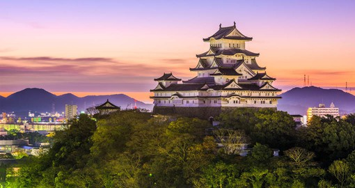 Himeji Castle is known as White Heron Castle due to its elegant design
