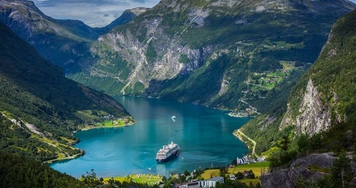 Geiranger fjord - an ideal photo opportunity for your Norway vacation.