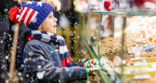 Munich's Christmas Market retains its traditional Bavarian character